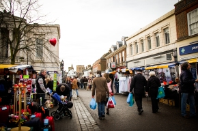 Market Day in St. Albans